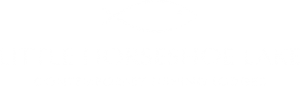 Little Horseshoe Lake Logo - White