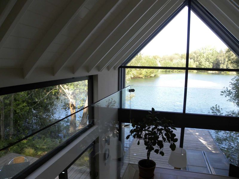Little Horseshoe Lake Willow Lodge View over the lake from first floor